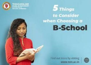 5 Things to Consider When Choosing a B-School